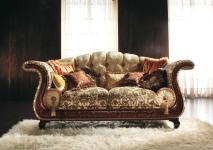 Итальянская мягкая мебель в классическом стиле. Фабрика Bedding