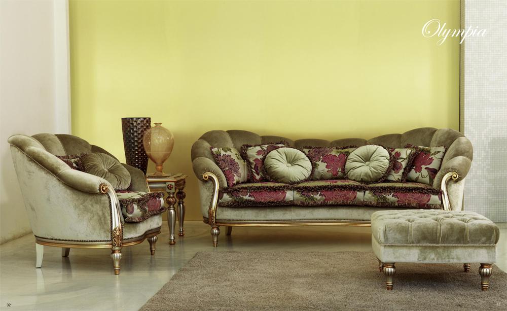 Диван Olympia Pigoli - Мебель из Италии LUSSO в Астане.