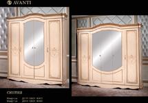 Шкаф 4-х дверный «Синтия»