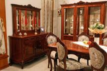Буфет 2 двери 6 ящиков с зеркалом «Фреш»