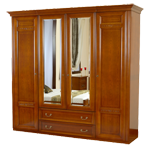 Шкаф 4-х дверный «Романтик Люкс»