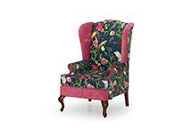 Каминное кресло в стиле ПЭЧВОРК