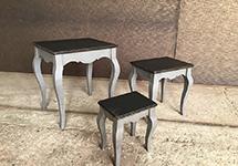Столики 3 в 1 «DM011» в стиле кантри и прованс