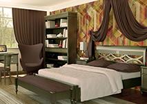 Кровать 160х200 «Мария Сильва» цвет GRIGGIO