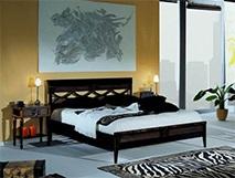 Кровать 160х200 «Мария Сильва» цвет NERO