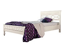 Кровать 140х200 «Бурбон» цвет AVORIO