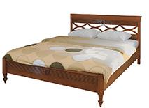 Кровать 140х200 «Бурбон» цвет NOCHE CHIARO