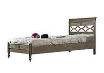 Кровать 160х200 «Бурбон» цвет GRIGGIO